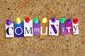 community noticeboard clipart